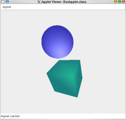 how to draw a cube in java applet